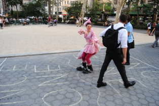 clown-plus-guy-in-dance-zone